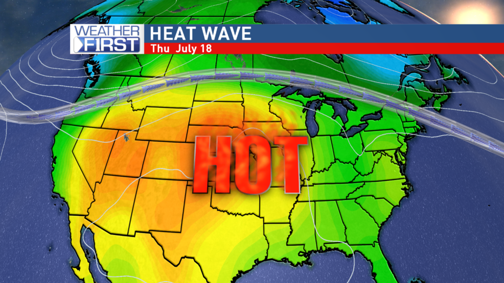 how long is the heat wave going to last 2012