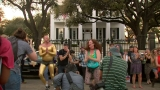 Dance protest held at Texas Governor's Mansion over transgender rights