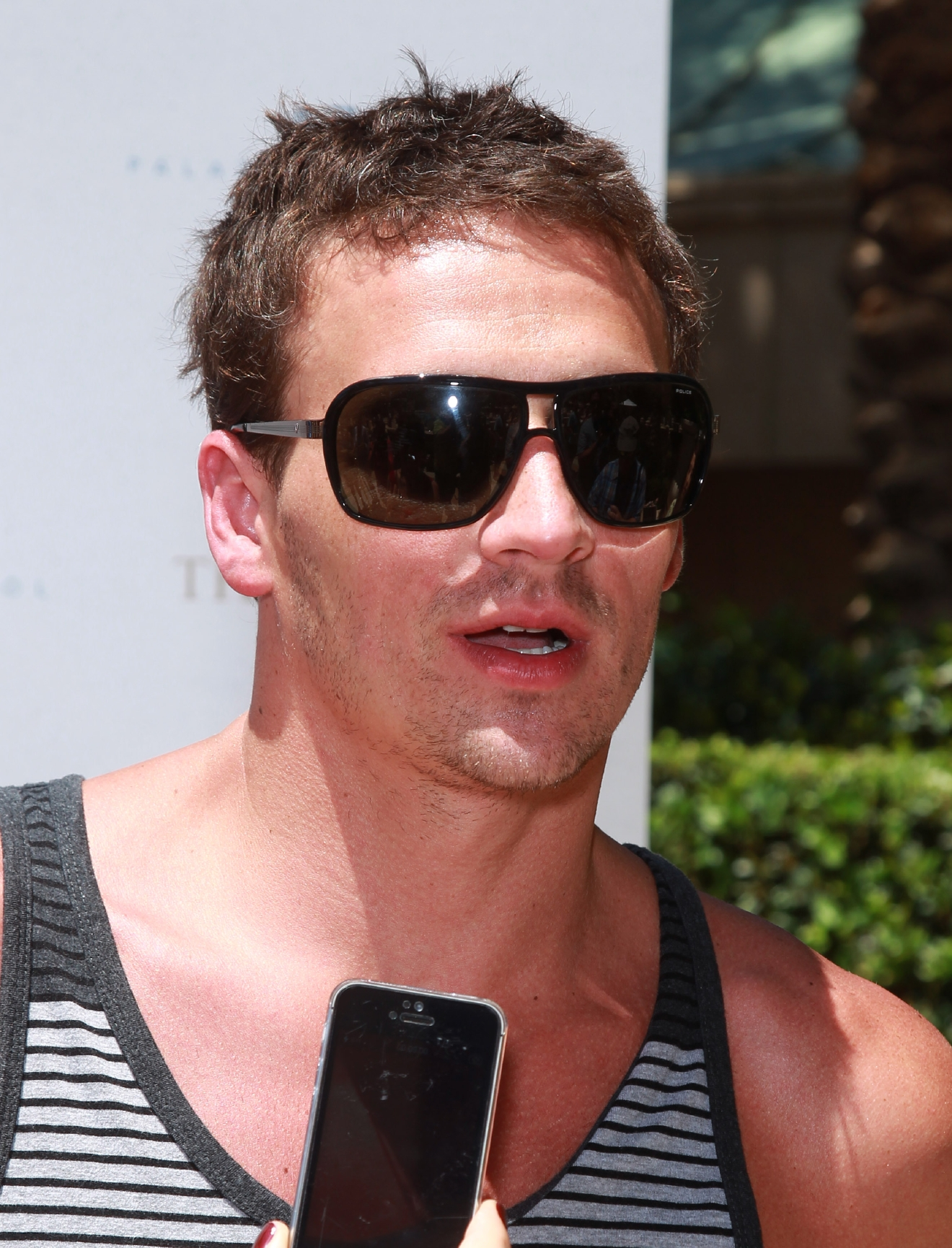 Olympic medalist Ryan Lochte at Azure Luxury Pool at The Palazzo Las Vegas  Featuring: Ryan Lochte Where: Las Vegas, Nevada, United States When: 07 Jun 2014 Credit: Judy Eddy/WENN.com