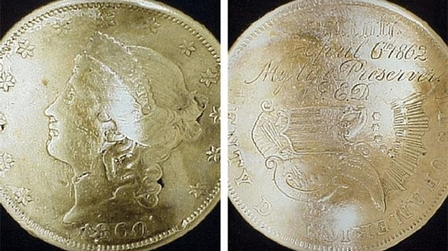 The Gold Coin that Saved a Soldier's Life