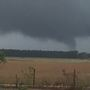Funnel cloud in Foley caught on camera