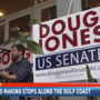 Democratic Senate candidate Doug Jones visits the Gulf Coast