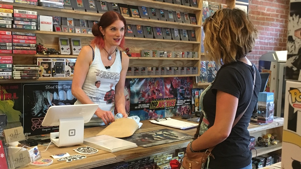 Woman comic store owner welcomes all 'nerds' in West Asheville