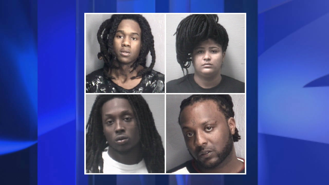 Four North Carolinians were arrested on felony heroin charges on January, 10, 2018.<p></p>