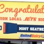Union Local presented Seatbelt Safety Award