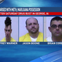 Four charged in drug related incident