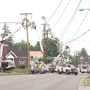 Road reopens following power pole repairs in Ashland, Ky.