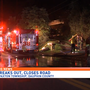Dauphin County house fire causes road closure