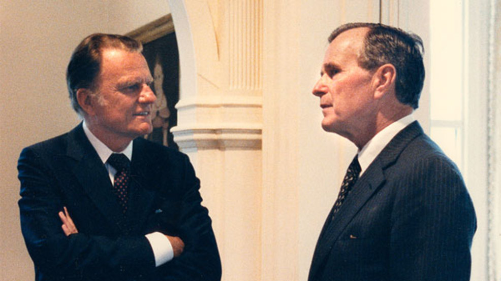 Rev. Billy Graham, sounding board for U.S. presidents & leaders