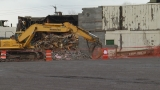 Demolition underway at Former DeWitt dance club