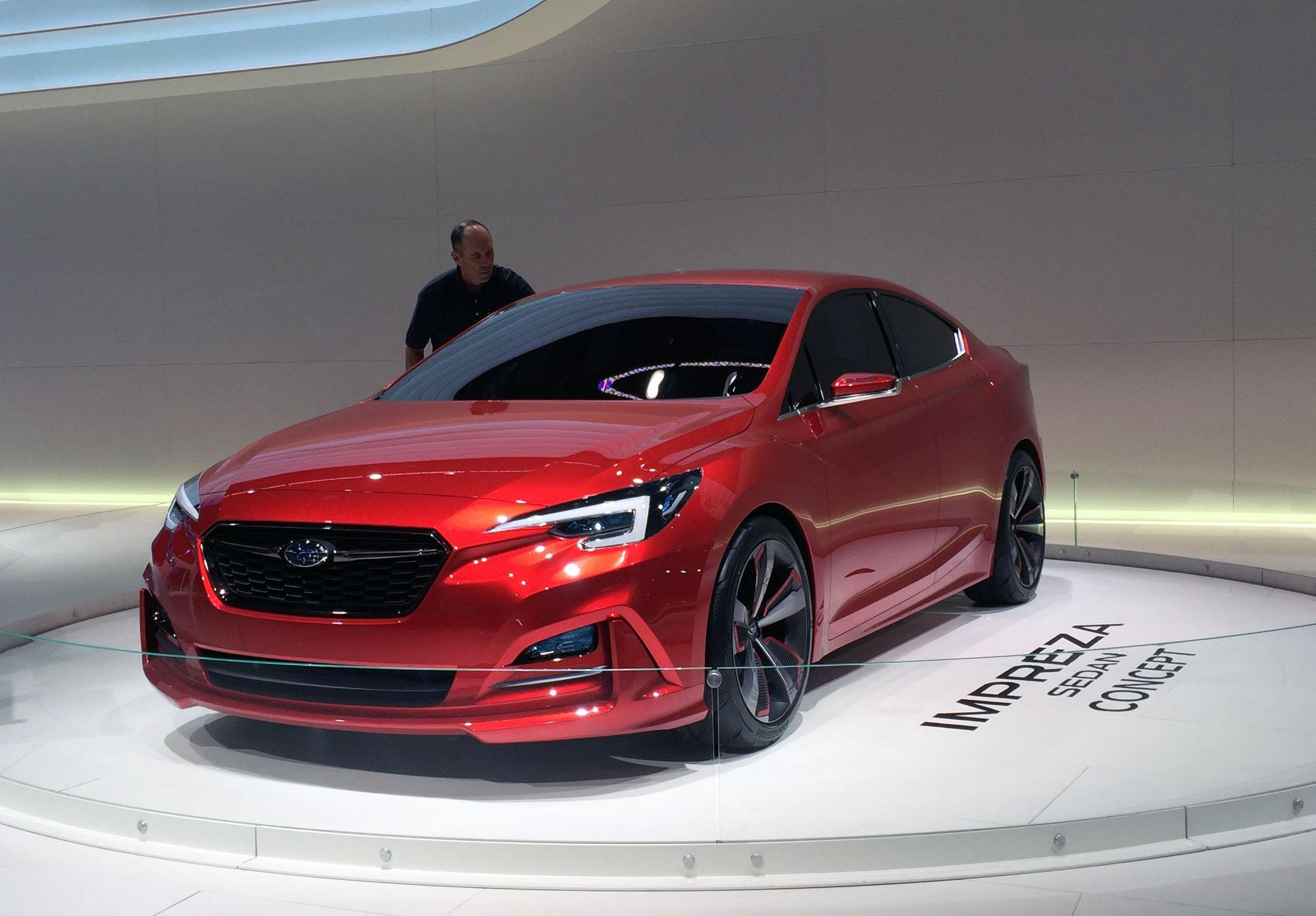 Subaru Impreza Concept (Photo by Jill Ciminillo)