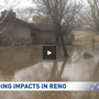 Post-rain flooding impacts some areas, while dry in others