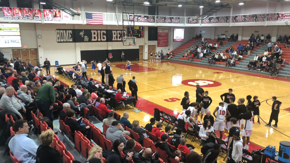 1.4.19 Highlights: Steubenville Big Red vs. Steubenville Central - boys basketball