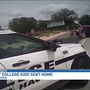 South Haven Police respond to rowdy college students on beach