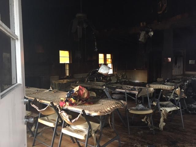 American Legion Post 40 caught fire Thursday afternoon, according to Horry County Fire Rescue. (WPDE)