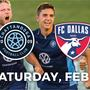 Chattanooga Football Club to welcome Dallas' team in preseason match