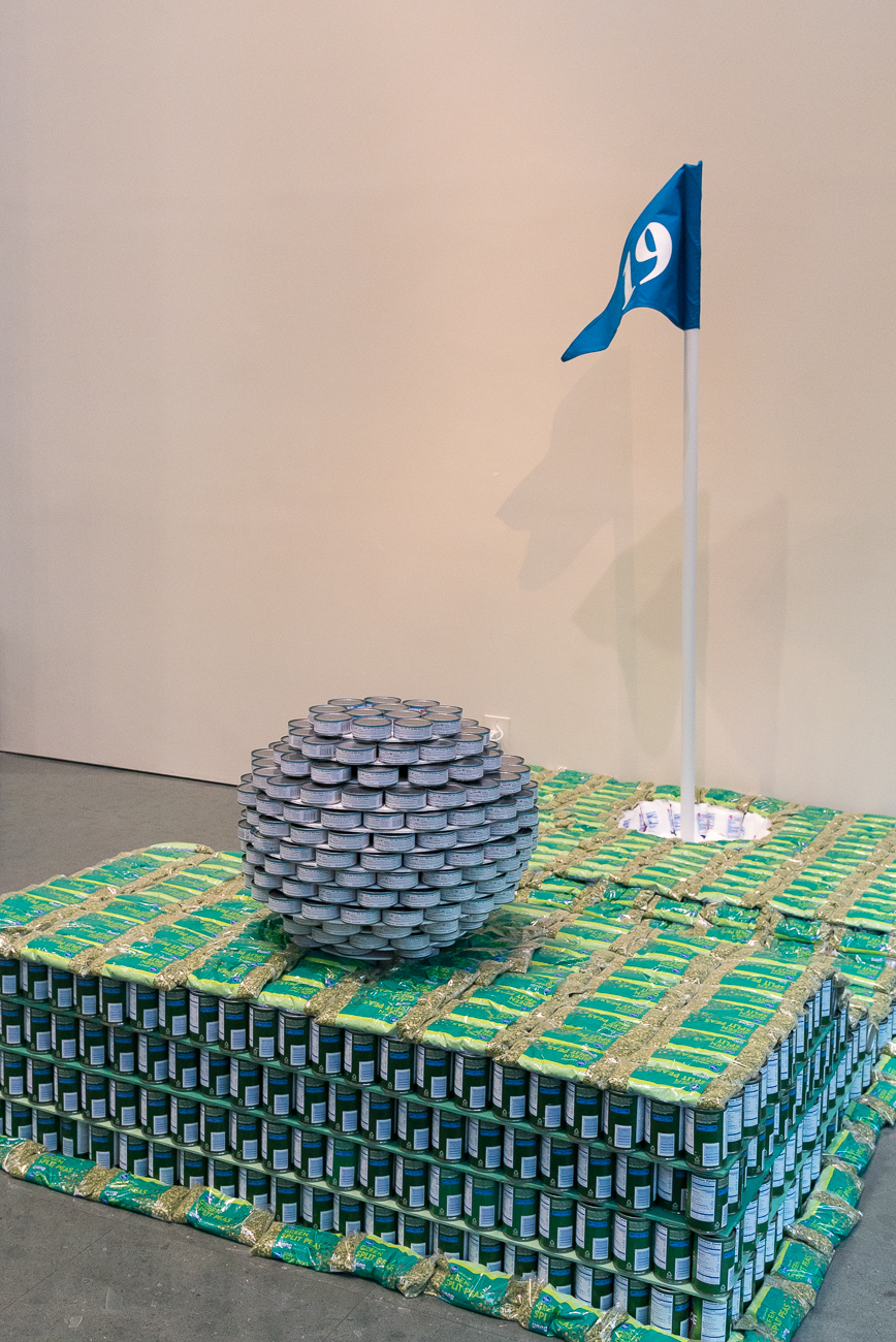Structure: Putt Hunger In Its Place / Location: The Weston Art Gallery in the Aronoff Center for the Arts / Image: Phil Armstrong, Cincinnati Refined // Published: 4.16.18