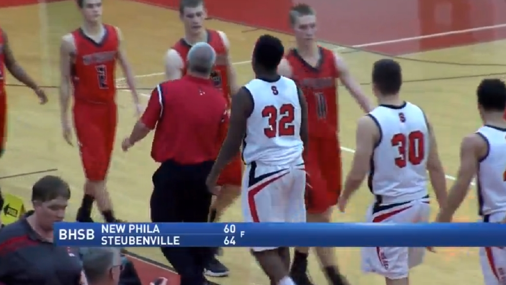2.21.17 Highlights - New Phila vs Steubenville - boys basketball