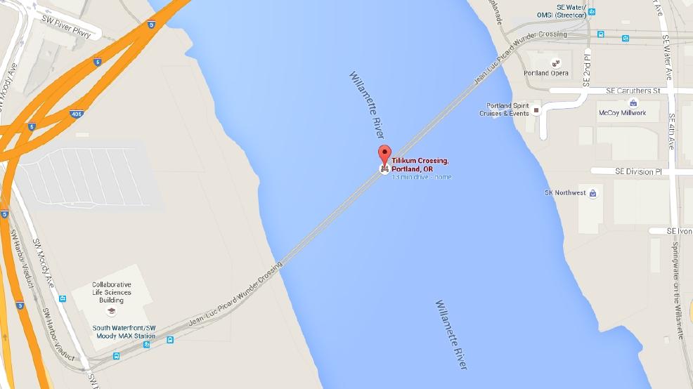 Prankster changes Tilikum Crossing\'s name on Google Maps | KATU