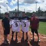 Jason Aldean and crew play softball against Pelham first responders before concert