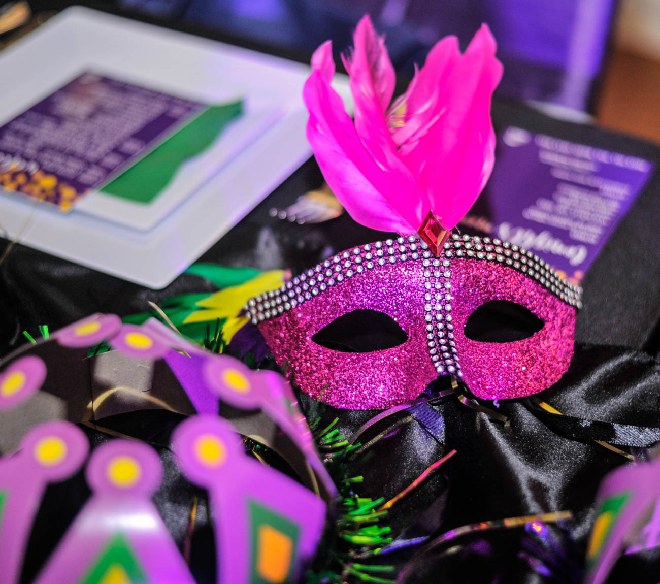 Guests enjoyed a Cajun dinner, live music from MYCincinnati and the Price Hillharmonic, raffle prizes, and more. There was also a prize awarded for the guest who was dressed most festively in Mardi Gras attire. / Image: Kellie Coleman // Published: 2.22.20