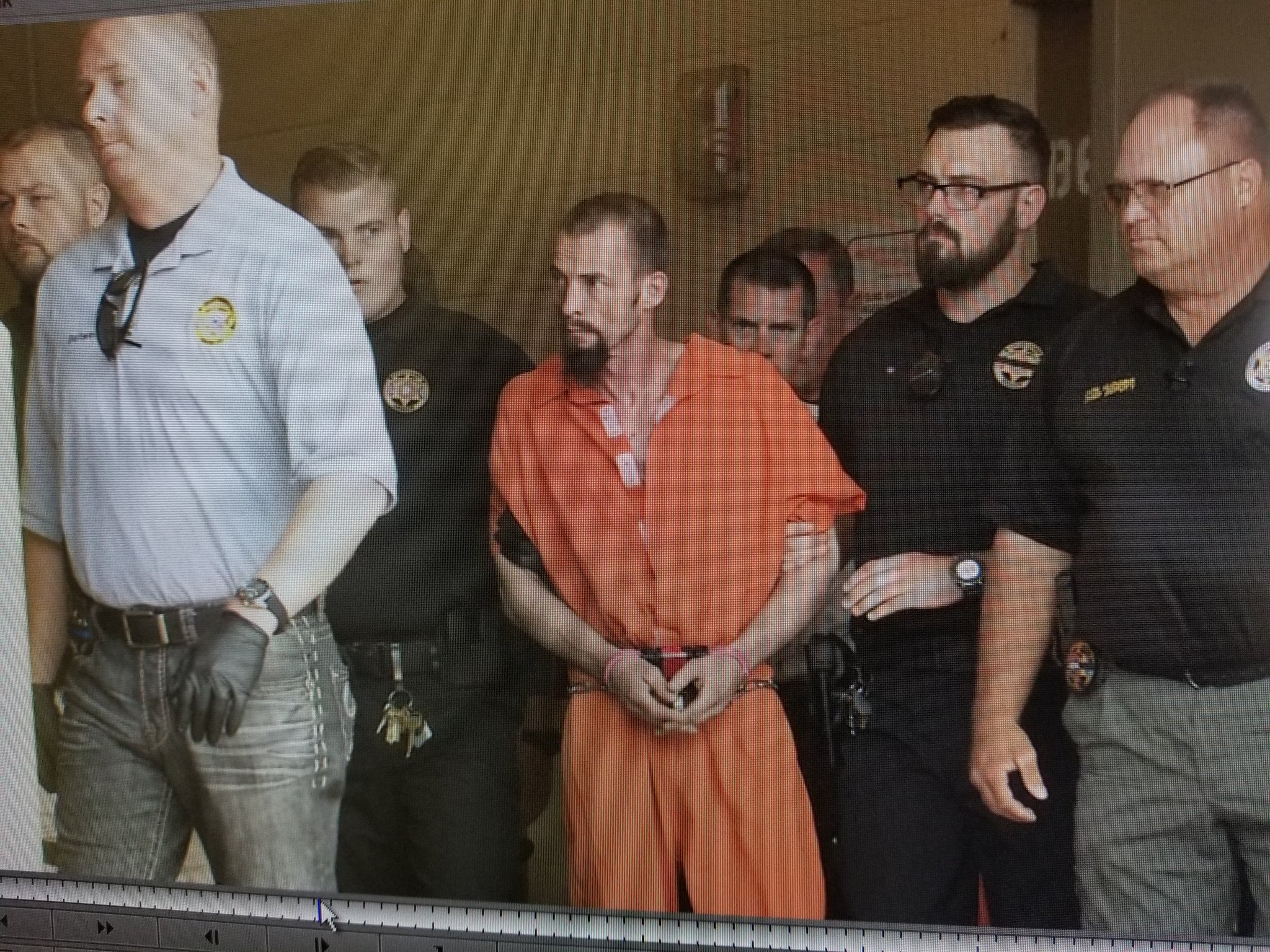 Nathan Leforce was arraigned in court Thursday April, 18. (KOKH/Steven Anderson)