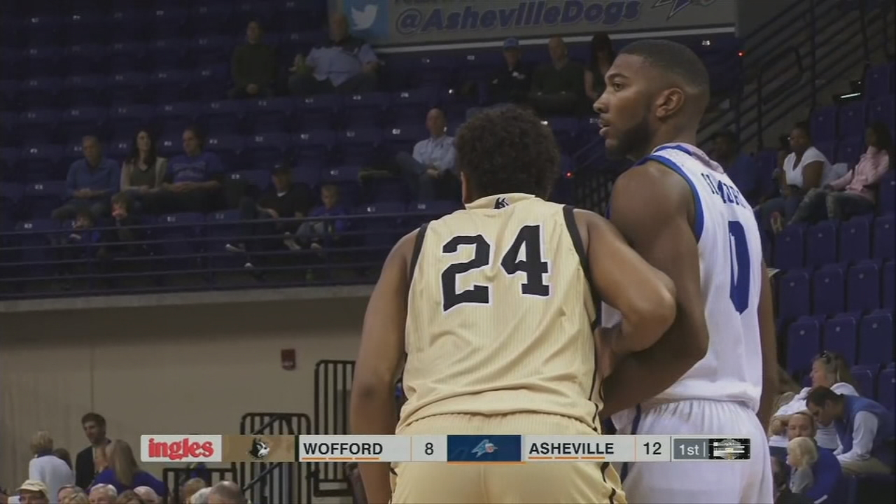 Asheville goes after its fourth straight win and third in a row at Kimmel Arena with a 7 p.m. tipoff Wednesday against USC Upstate. (Photo credit: WLOS Staff)