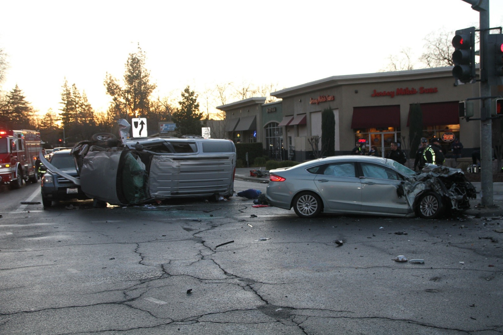 Five car collision caused by alleged DUI driver in Chico | KRCR