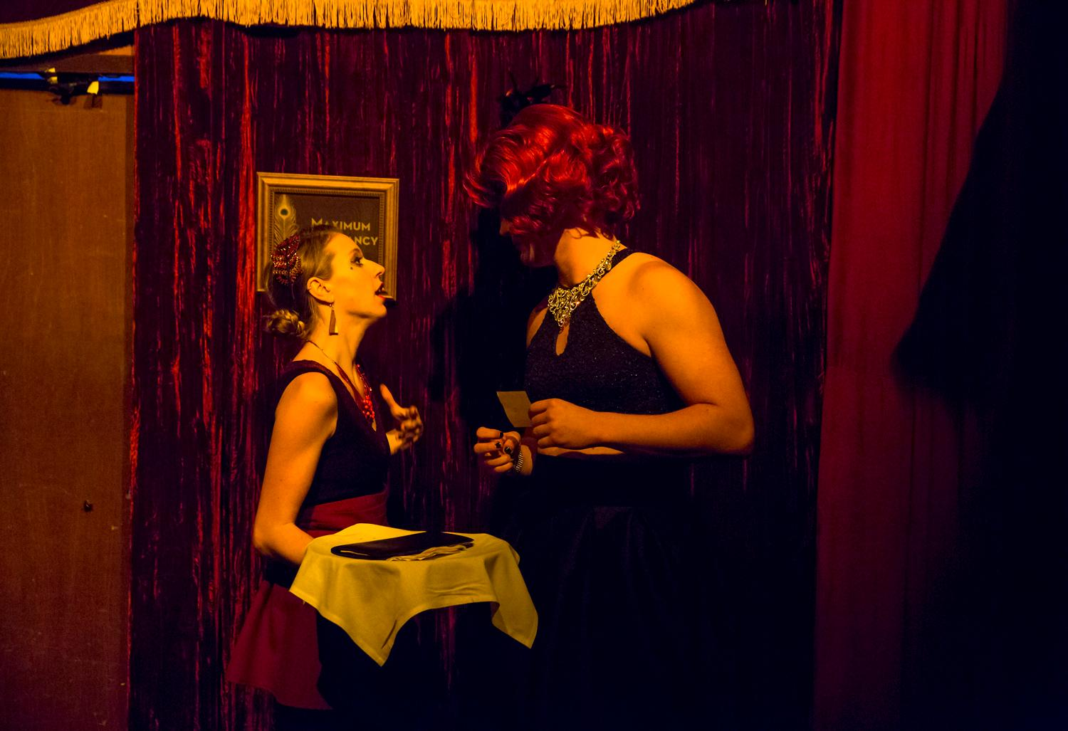Teatro ZinZanni is a three-hour dinner show full of international cirque, comedy, cabaret, and a multi-course menu designed by James Beard award-winning chef Jason Wilson. (Sy Bean / Seattle Refined)