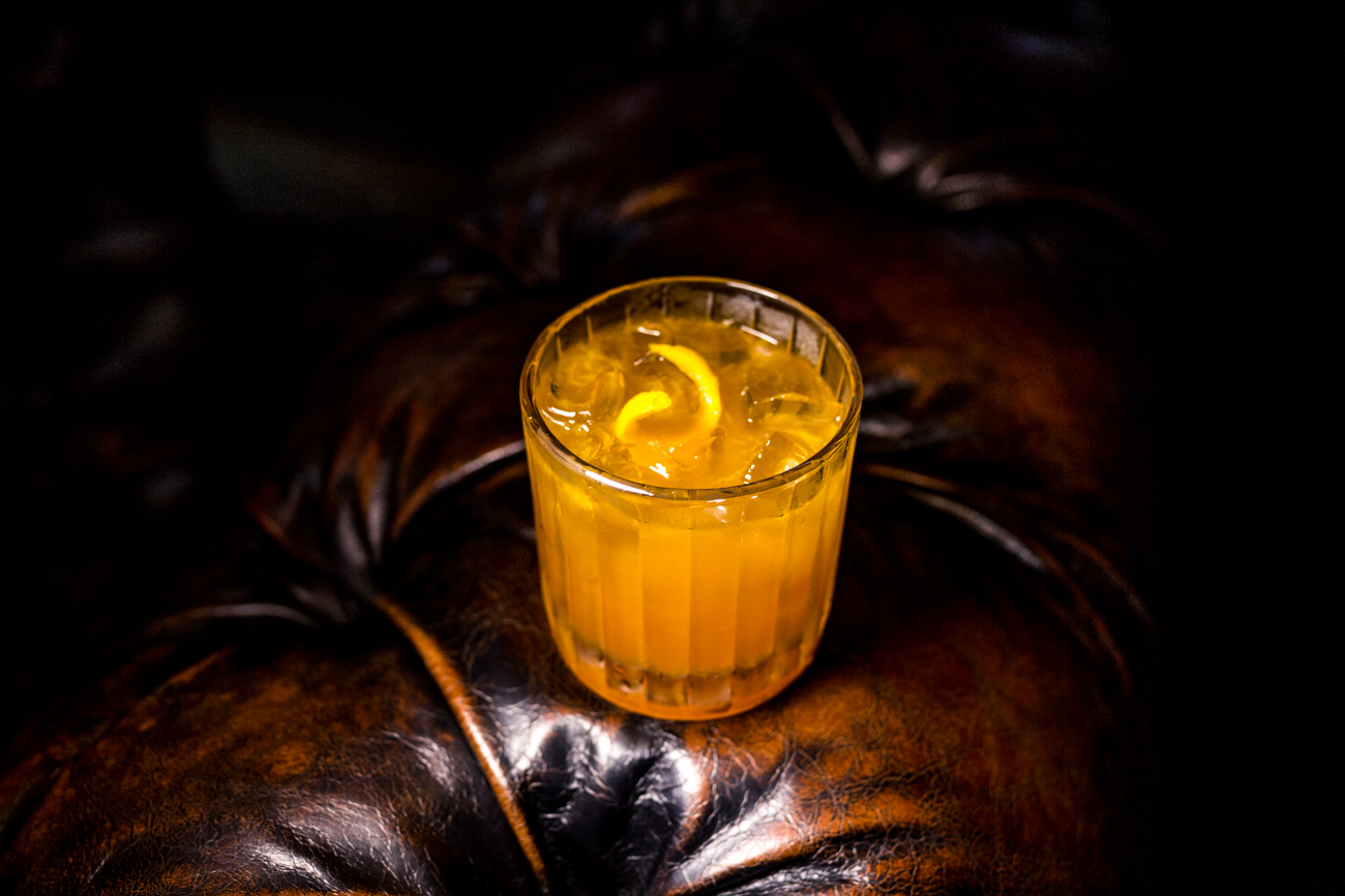 Old Fashioned: bourbon, bitters, orange, and sugar / Image: Catherine Viox // Published: 7.30.19