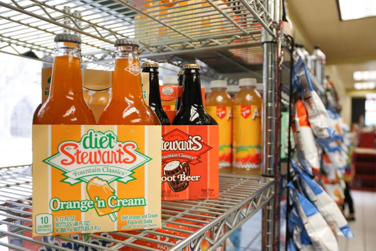 From common brands, to the more eclectic, Sunshine has a large soda selection.{ }/ Image: Ronny Salerno // Published: 4.25.19