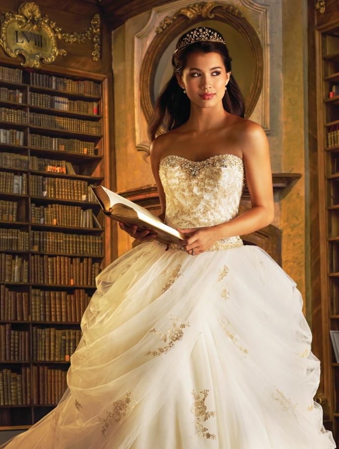 PHOTOS   Disney inspired wedding dresses   KUTV