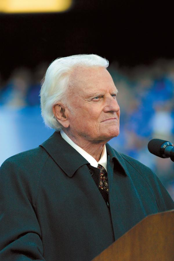 FILE - Billy Graham (Photo credit: BGEA)