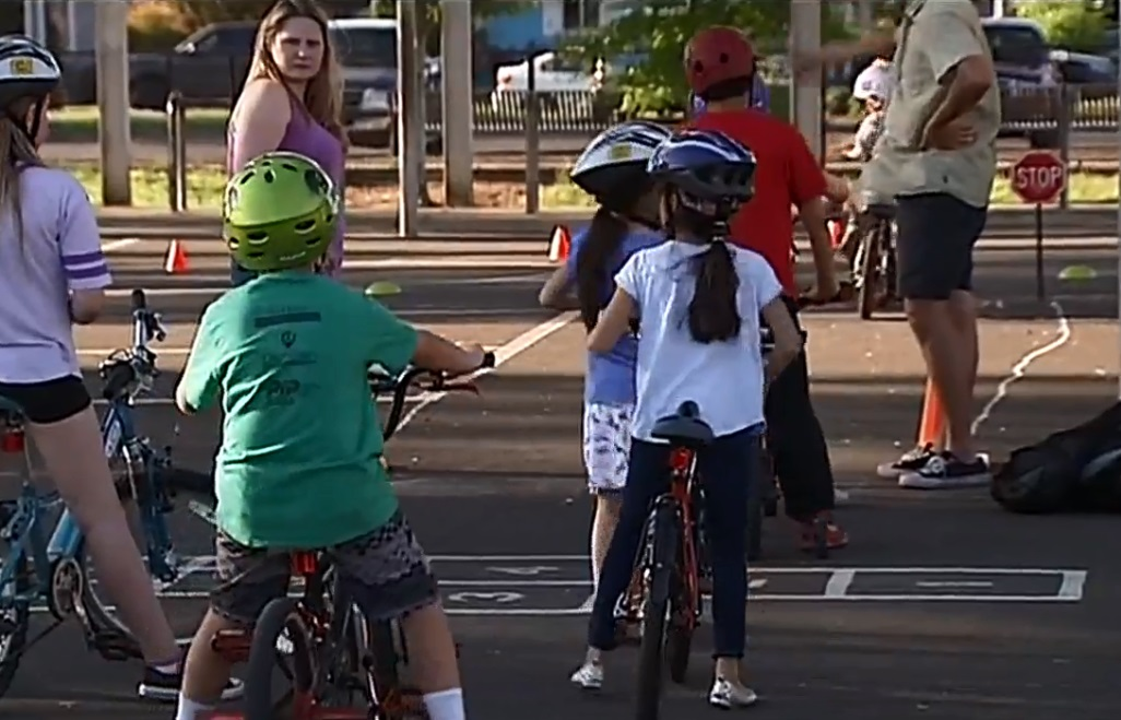 The Bike Rodeo on May 22, 2018. (SBG)