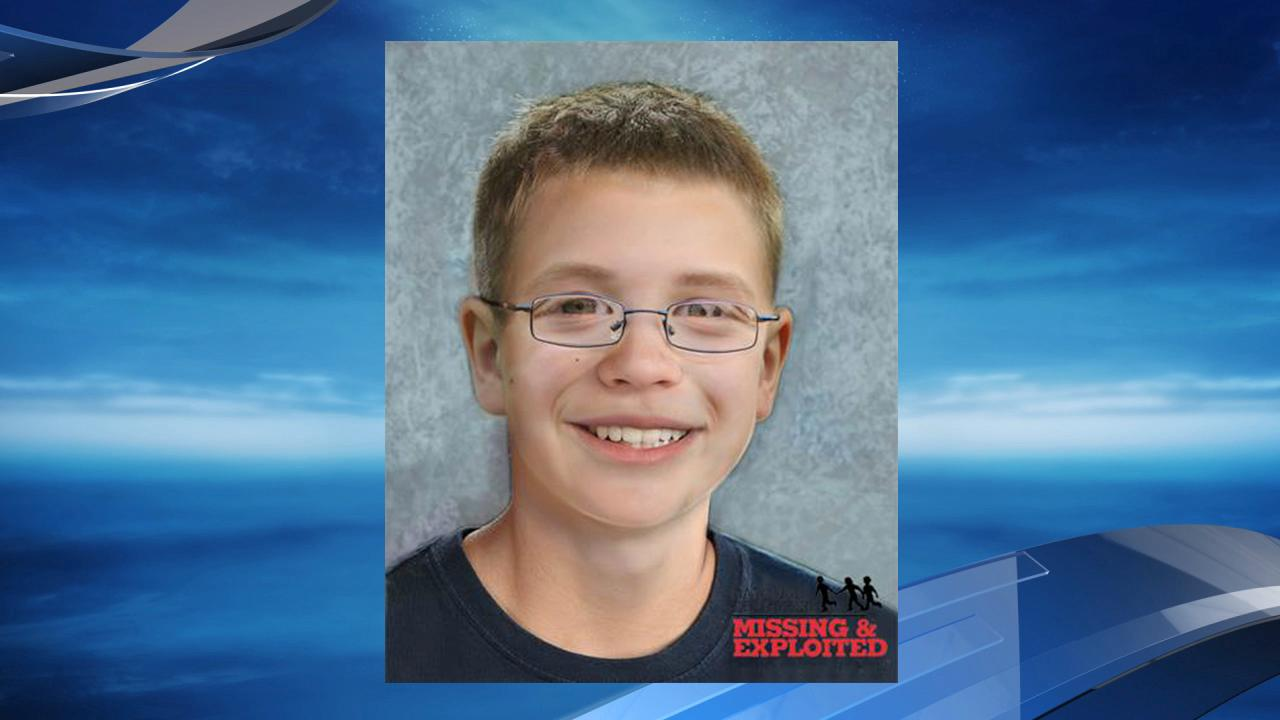 Kyron Horman age progression photo from the National Center for Missing and Exploited Children