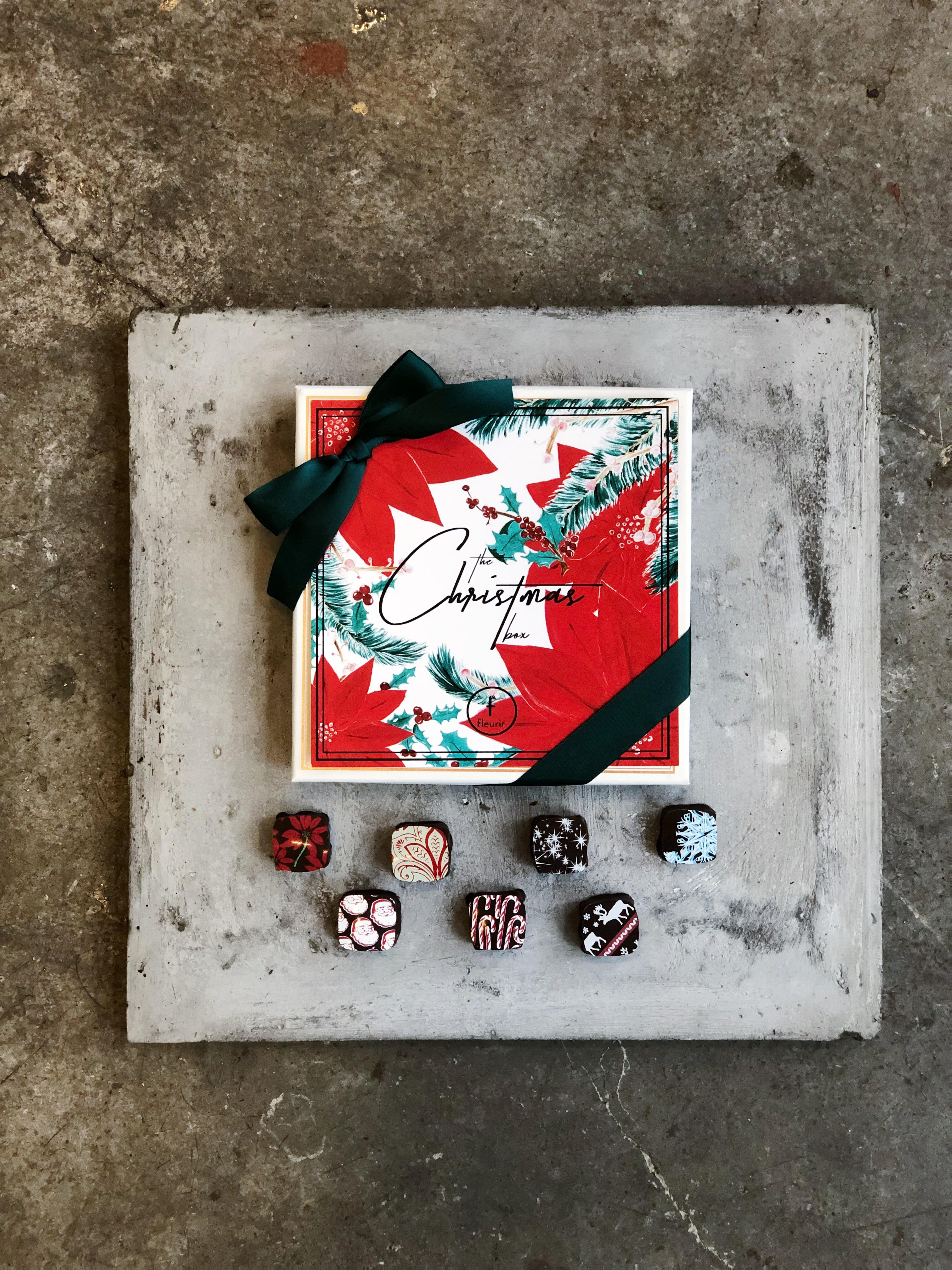 The Christmas Box from Fleurir Chocolates // Price: $24.95–$37.95 // Buy in store or online // www.fleurirchocolates.com // (Image: Fleurir Chocolates)