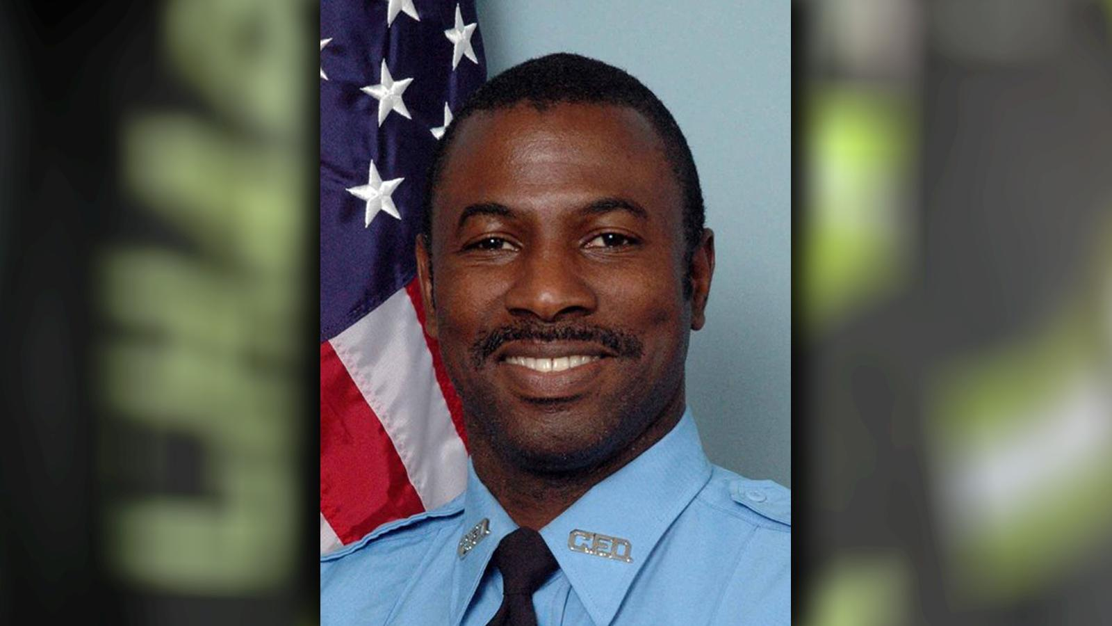 Firefighter Melvin Champaign, Engine 16, 2 years of service.  (Charleston Fire Department)