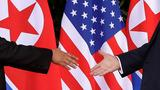 Trump and Kim shook hands in scene complex as their rivalry