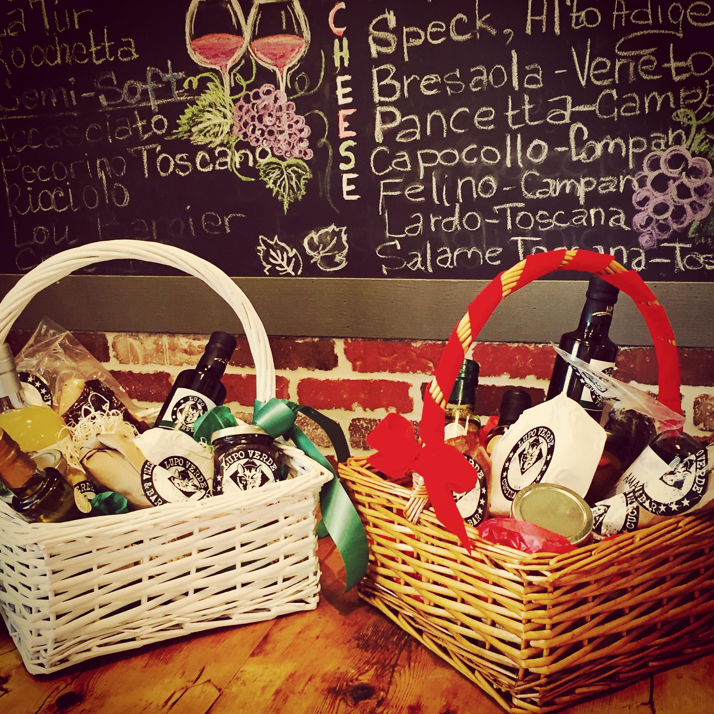 Italian Gift Basket from Lupo Verde // Price: $60-$200 // Buy at the restaurant or call ahead // www.lupoverdedc.com // (Image: Lupo Verde){&nbsp;}<p></p>
