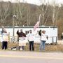 Pipeliners hold protest in Belmont County
