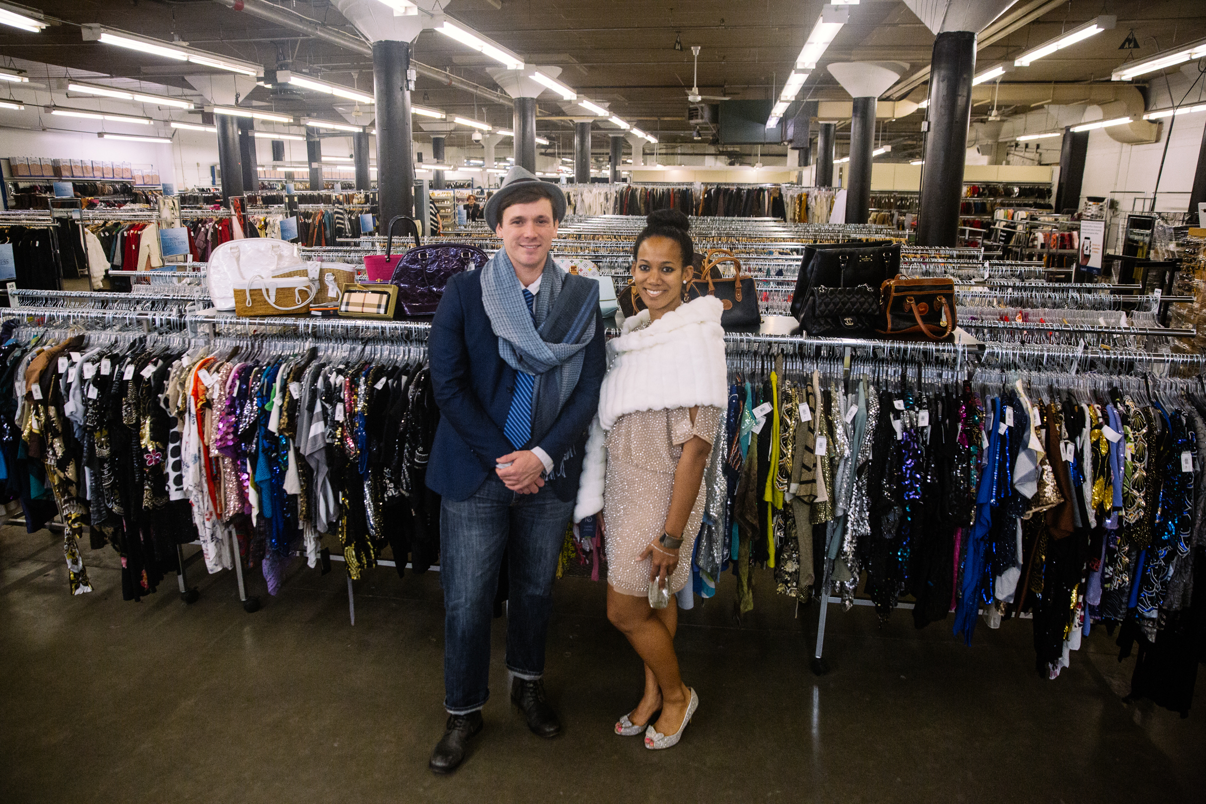 The Seattle Goodwill Glitter Sale is the shopping event of the season! Items for sale include designer, vintage and unique one of a kind clothing items and accessories. (Photo courtesy Seattle Goodwill)<p></p>