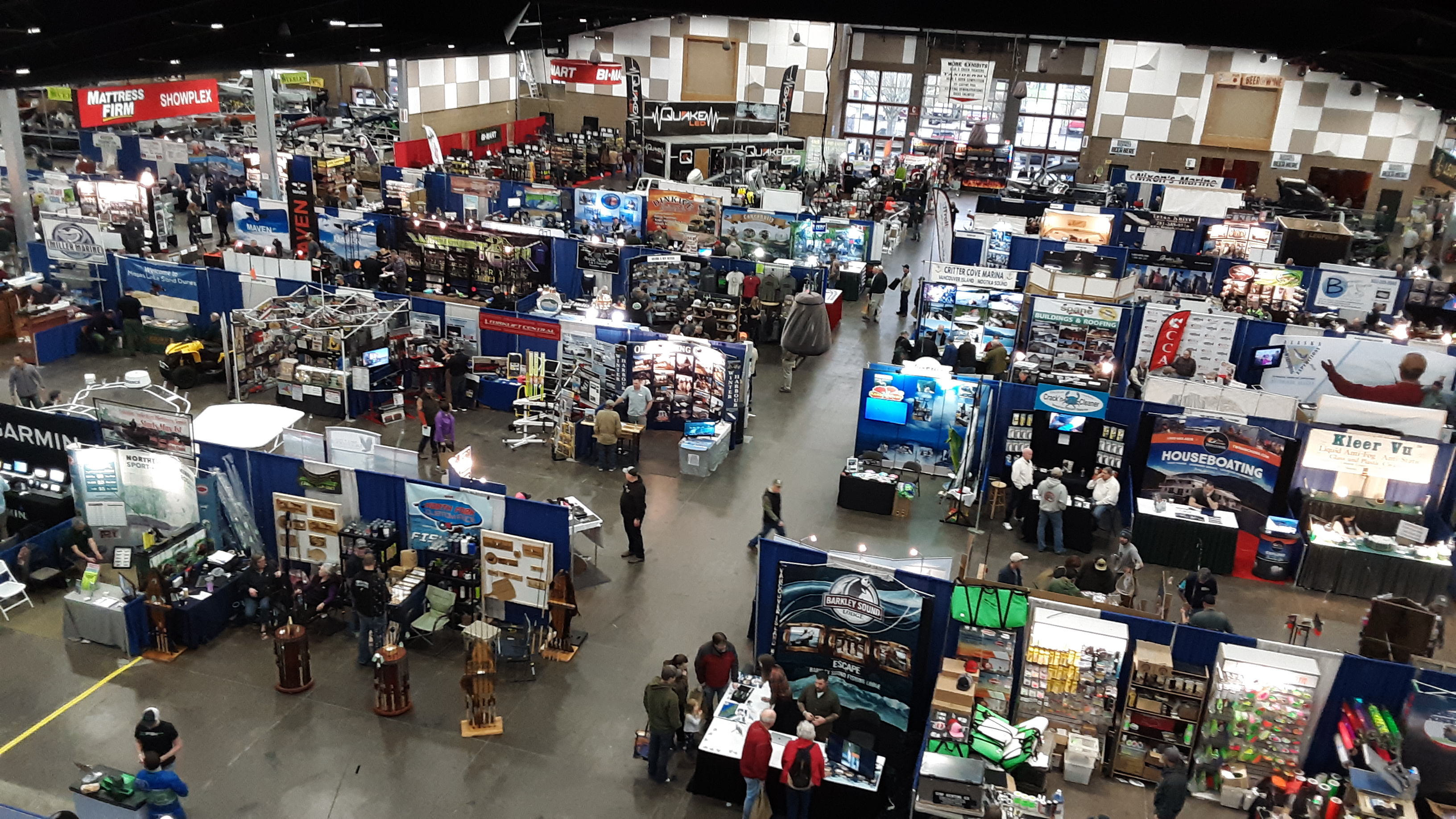 The Washington Sportsmen's Show returns to the Washington State Fair Events Center in Puyallup from Jan. 22 to Jan. 26.
