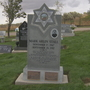 Headstone of Mark Stall restored for the 20th anniversary of his death
