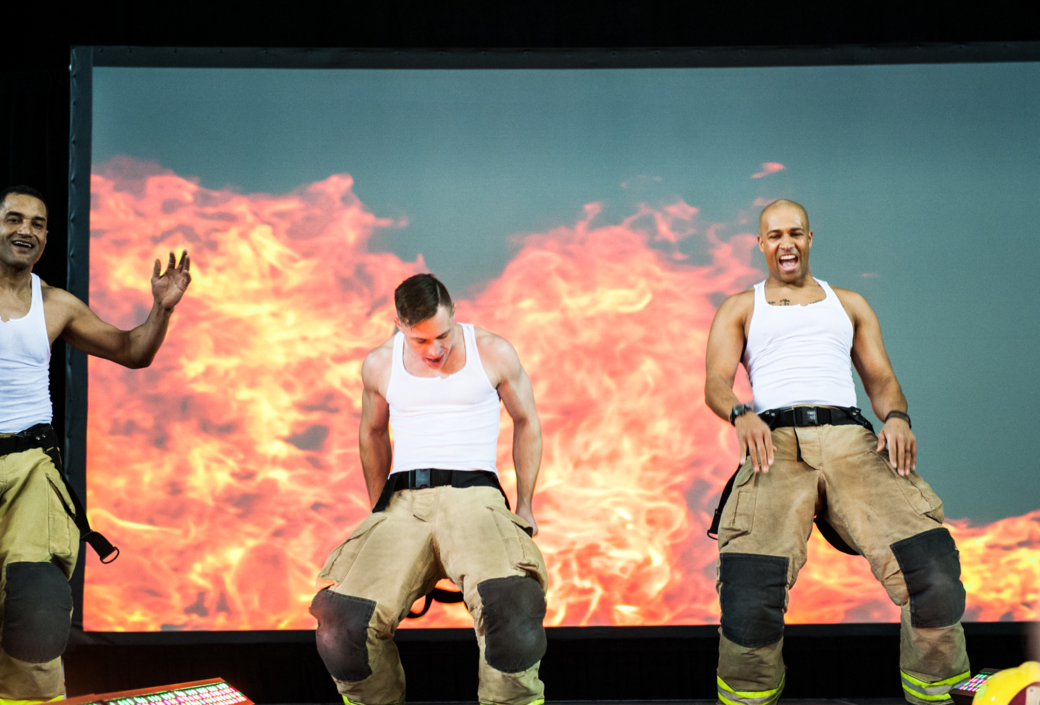 It's one of the most popular parts of the So NW Women's Show - the firefighters! And we've never seen anything like the show that the gentlemen from Local 31 put on for us. A choreographed routine, personal dances, audience participation, and all for a good cause! Hundreds of dollars were raised for the YWCA and Camp Blaze. Thanks guys! (Image: Elizabeth Crook / Seattle Refined)
