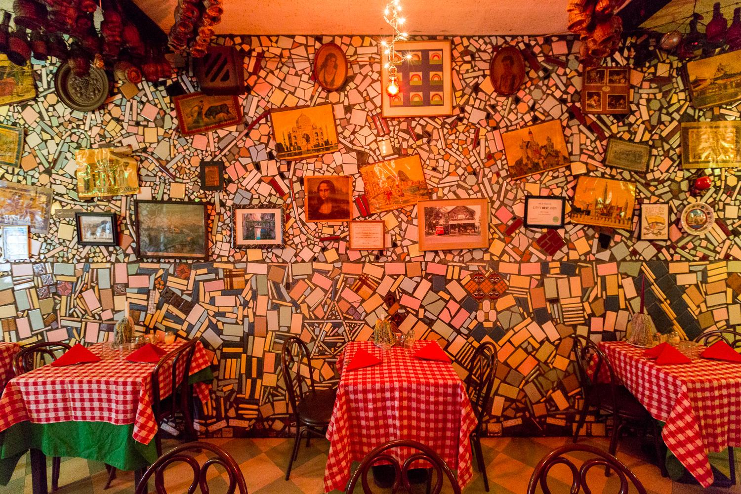 Scotti's Italian Restaurant, one of the oldest eateries in Cincinnati, has been combining traditional Italian flavor and classic Cincy flare for over 100 years. / Image: Daniel Smyth Photography