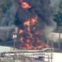 Huge fire breaks out at Arkema chemical plant in Texas