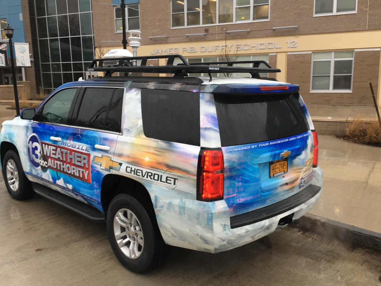 The Chevy Mobile WHAM Weather Authority is heading on the road!
