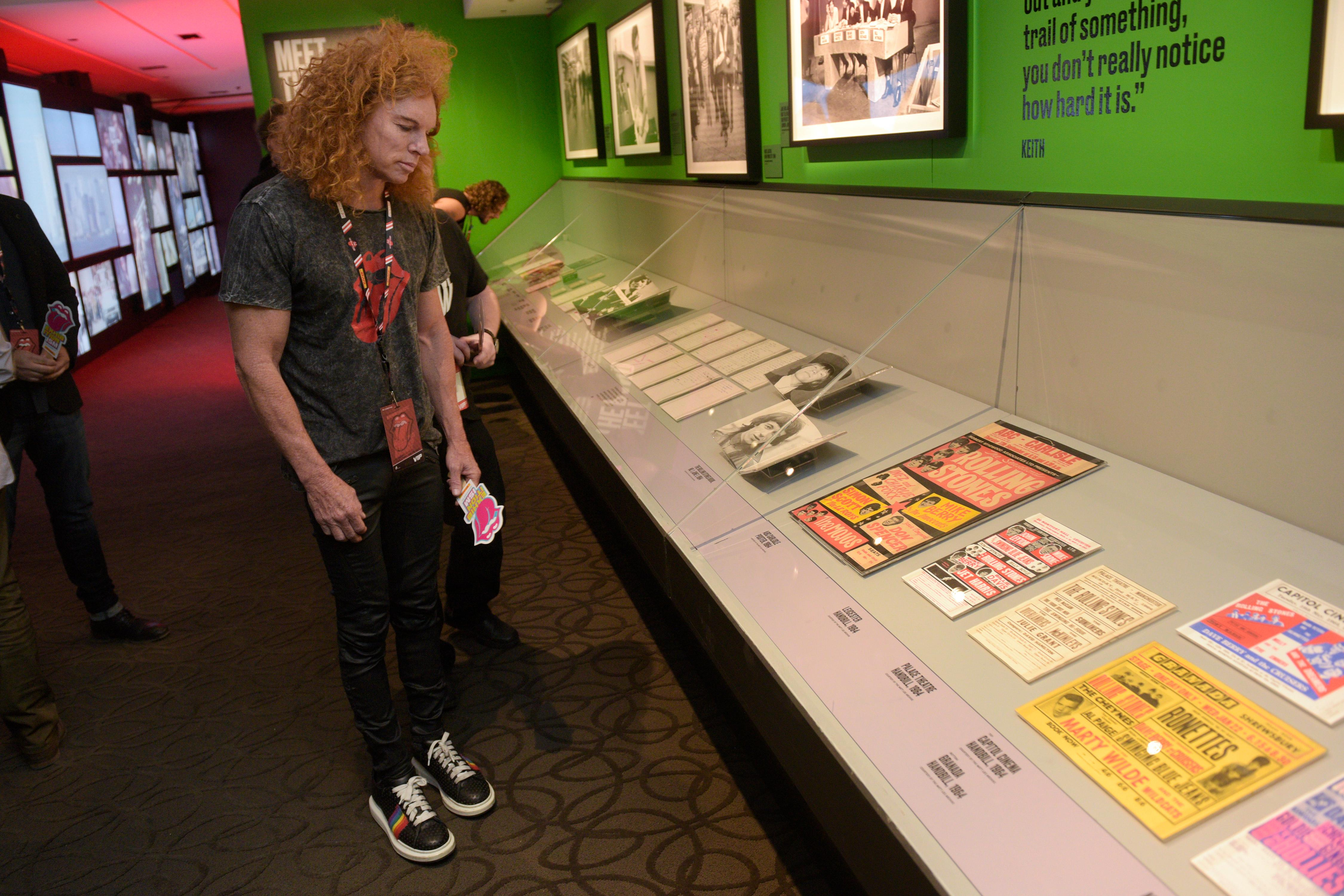 Gallery Rollings Stones Exhibitionism Display Arrives