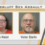 A Grand Island couple is accused of raping a Scottsbluff woman
