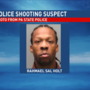 Suspect identified, warrant issued in fatal shooting of police officer